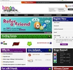 Bingo Anywhere Reviews | Online Bingo Promotions | Scoop.it