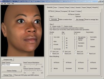FaceGen Modeller: 3D Face Generator | 3d printers and 3d scanners | Scoop.it