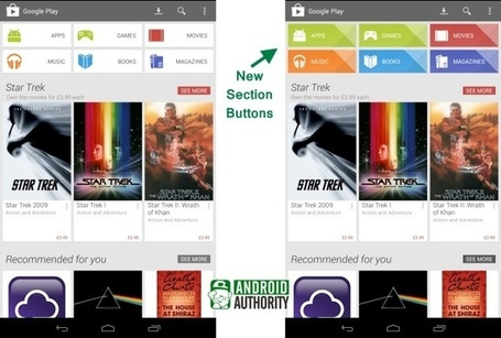 Google Play Store updated with new button design and other UI tweaks | Google Information | Scoop.it