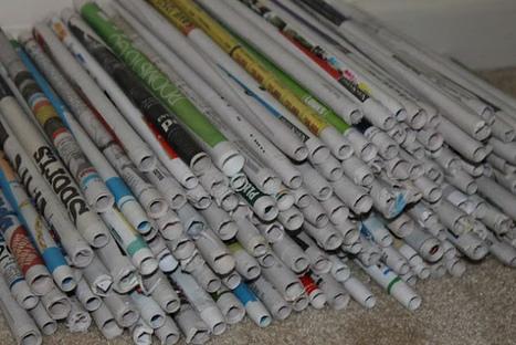 Como hacer una lampara con papel reciclado. Completo Tutorial   Noticias de ecologia y medio ambiente   Ecología y reciclaje   Scoop.it