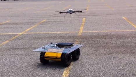 Watch A Robotic Copter Land On A Moving Platform | TechCrunch | Heron | Scoop.it