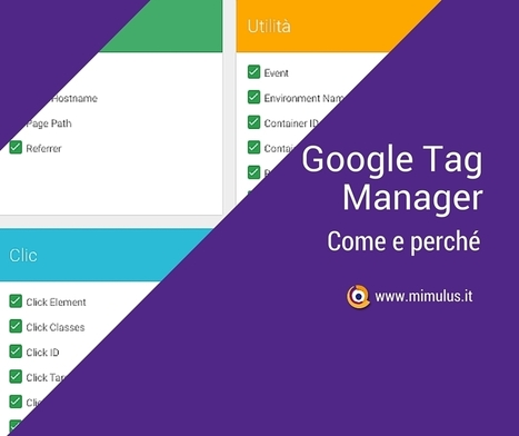 Google Tag Manager, come iniziare - Mimulus | WEB, DIGITAL & SOCIAL MEDIA | Scoop.it