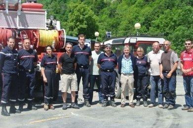 Les pompiers au secours de Barèges | Barèges | Scoop.it