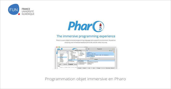 [Today] MOOC Programmation objet immersive en Pharo | MOOC Francophone | Scoop.it