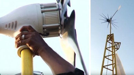 Pour le prix d'un ordi, cette éolienne alimente toute votre maison en énergie ! (VIDÉO) | Cyber ferme | Scoop.it