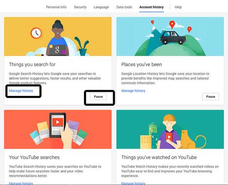 Μάθε τι γνωρίζει η Google για εσένα με μερικά κλικ | omnia mea mecum fero | Scoop.it