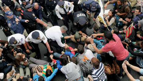 Police: Hundreds of Wall Street protesters arrested at Brooklyn Bridge - CNN.com   Conciencia Colectiva   Scoop.it