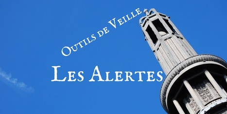 Outils de veille: les alertes - Les Outils Numériques | carte mentale | Scoop.it
