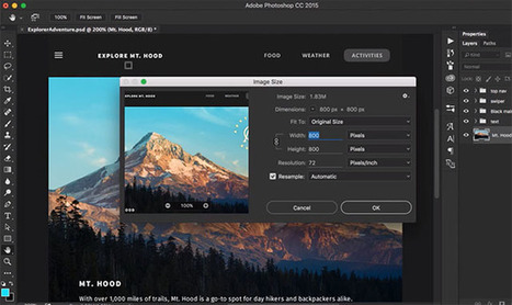 Adobe Photoshop CC Updated with Custom Toolbars, Touch UI, and More | xposing world of Photography & Design | Scoop.it