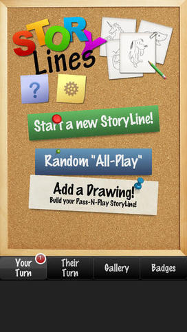 #StoryLines #ipad app party game in pass-and-play mode | ipad apps to mLearning by Euneos | Scoop.it