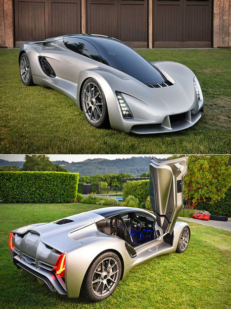 The First 3D-Printed Supercar | Heron | Scoop.it