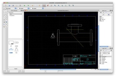 LibreCAD is a free Open Source CAD application for Windows, Apple and Linux. | formation 2.0 | Scoop.it