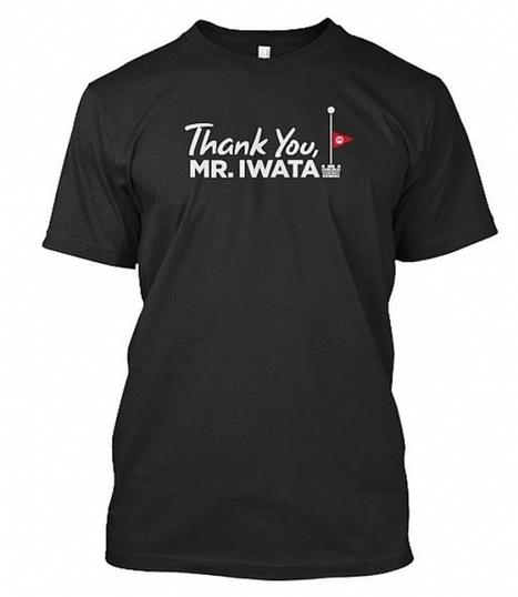 Una maglietta per ricordare Satoru Iwata: il ricavato delle vendite verrà devoluto in beneficenza   Il tatuaggio di stoffa   Scoop.it