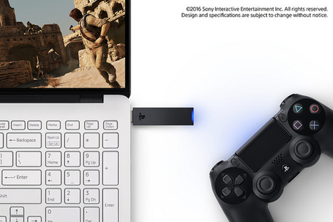 PlayStation Now Coming to PC, DualShock 4 USB Wireless Adaptor Unveiled | CulturaDigital | Scoop.it