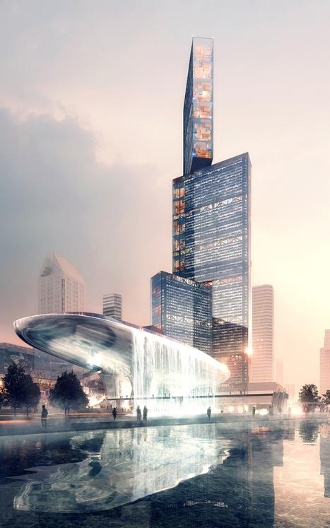 PLP diseñará el rascacielos más alto del delta del río Perla en China | retail and design | Scoop.it