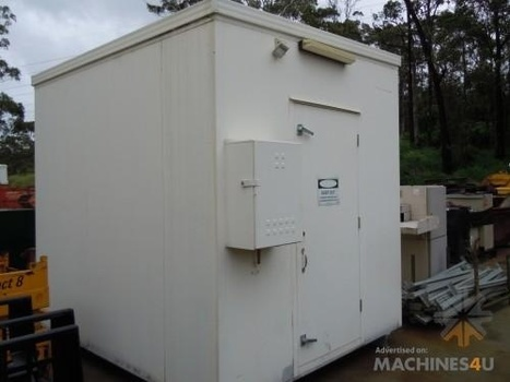 Portable Electrical Site Shed with Double Air Con | Farm Machinery | Scoop.it
