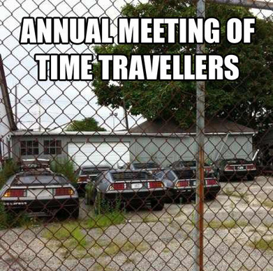 Delorean for the perfect time travelling machine. | CWS Group | Scoop.it