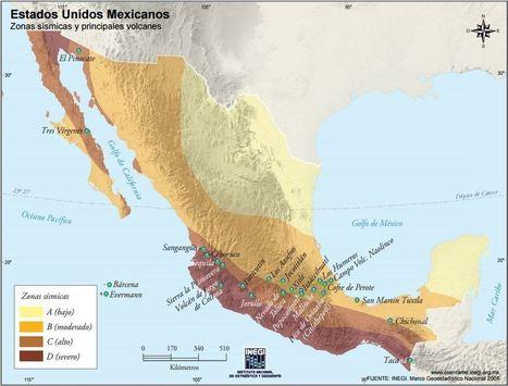 Un viaje a México a través de los mapas | Geografía | Scoop.it