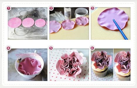 Şeker hamurundan kolay çiçek yapımı | Mutfak | Pek Marifetli! | KADIN SİTESİ | Scoop.it