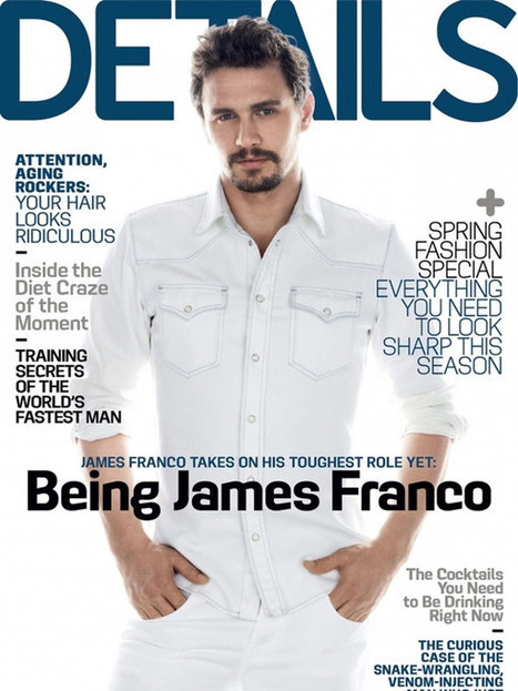 James Franco by Mark Seliger | Details Magazine March 2013 | JIMIPARADISE! | Scoop.it