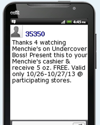 Menchie's promotes mobile offer on TV, sees 30pc redemption rate - Mobile Marketer - Database/CRM | International Dairy Market Insights | Scoop.it