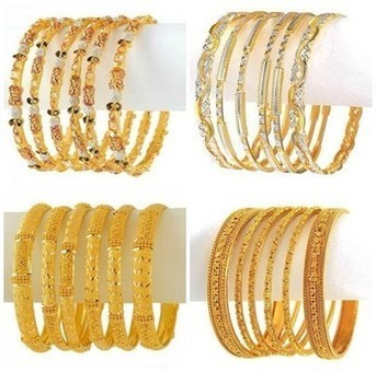Gold Bangles Designs Collection 2015 For Girls | Girls Fashion | Scoop.it