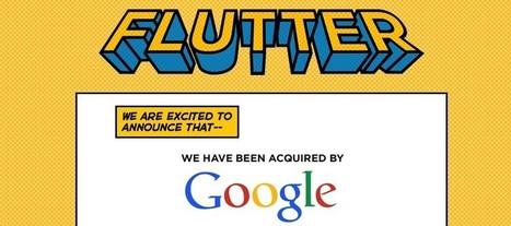 Reconnaissance des mouvements : Google rachète Flutter | topic | Scoop.it