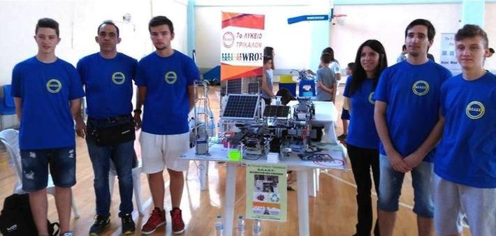 Τρίκαλα: Παγκόσμια πρόκριση για την Ομάδα Ρομποτικής του 7ου Λυκείου - ert.gr | Η Πληροφορική σήμερα! | Scoop.it