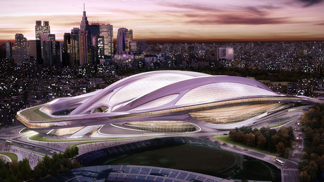 Tokyo 2020 Olympics to centre aroun stadium | Design | Scoop.it