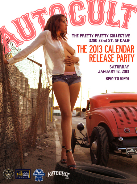 Pinup girls and hot rods, tonight on 22nd Street « Mission Mission | Pin- Up Logos | Scoop.it