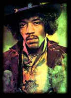 Jimi Hendrix had to learn to play guitar right-handed because his father believed playing left-handed was a sign of the Devil. | The Blues | Scoop.it