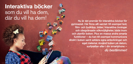 Gleerups Utbildning | Interaktiva böcker | Folkbildning på nätet | Scoop.it