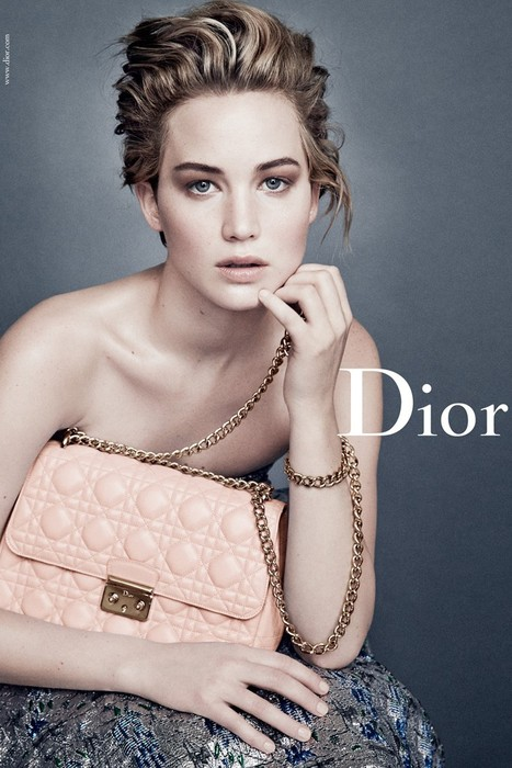 Jennifer Lawrence : Looking gorgeous for Dior new campaign | Filmi Gossip | Scoop.it