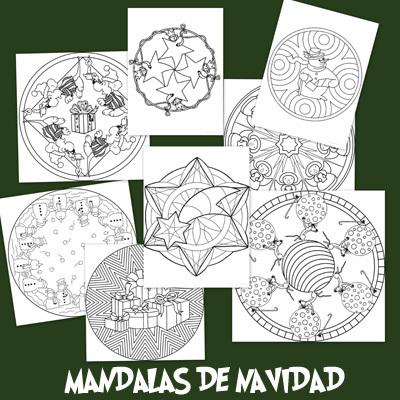 Recursos para el aula: Mandalas Navideñas | pedagogía terapéutica | Scoop.it
