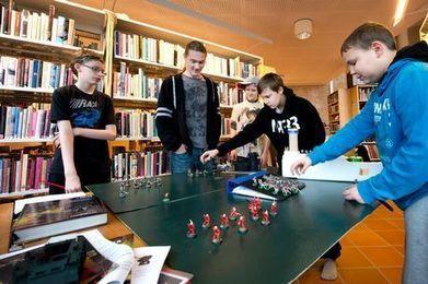 Sagolika strider på biblioteket - Helsingborgs Dagblad | Bibliotek | Scoop.it