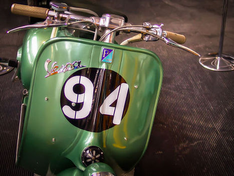 A Journey Through The Vespa History | Chummaa...therinjuppome! | Scoop.it