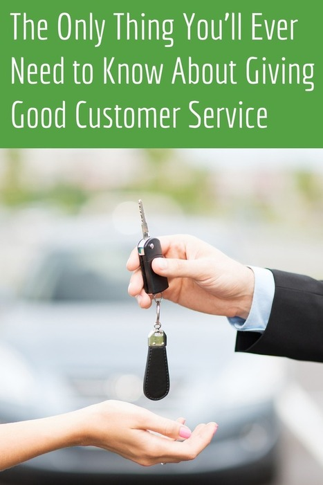 What You Need to Know About Giving Good Customer Service   BWS Blog   Good customer service   Scoop.it