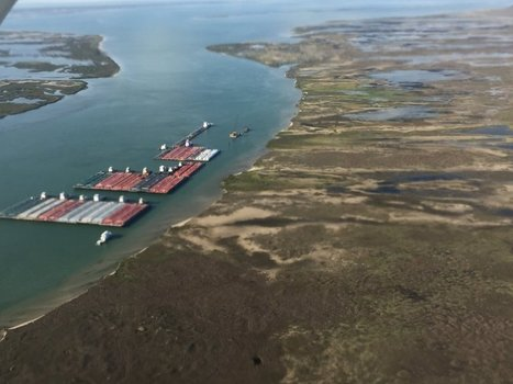 Corps of Engineers say Lydia Ann barge mooring project must go | Texas Coast Living | Scoop.it