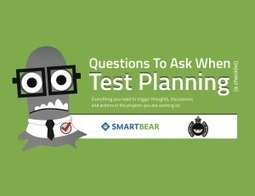 Checklist: Questions To Ask When Test Planning - Ministry of Testing | QA Automation by Applitools | Scoop.it