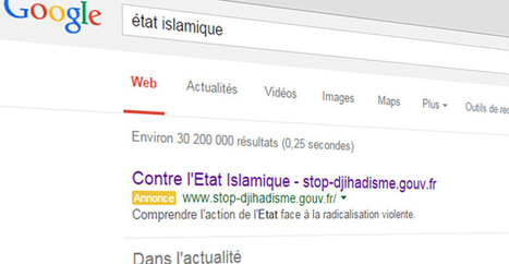 La France paye Google pour contrer l'Etat Islamique | Géopolitique & Géo-économie | Scoop.it