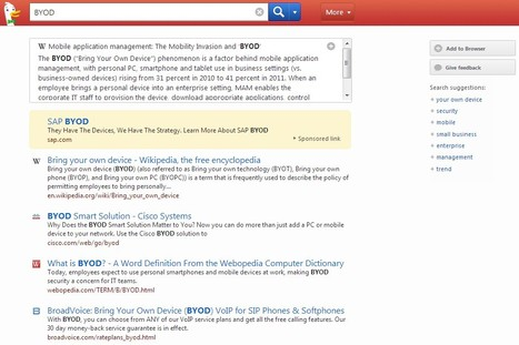 DuckDuckGo Search Engine | 21st Century Tools for Teaching-People and Learners | Scoop.it
