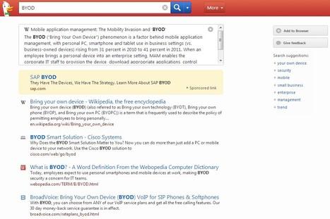 DuckDuckGo Search Engine | CoAprendizagens 21 | Scoop.it