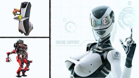 Los robots del presente, ¿cómo son?, ¿qué hacen? | tecno4 | Scoop.it