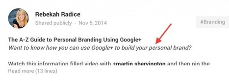 5-Step Formula to Substantially Boost Google Plus Engagement | Social Media, Curation, Content Today | Scoop.it