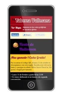 Pegatinas con QR y web con redes sociales para pequeños establecimientos | VIM | Scoop.it