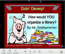 Mr. Breitsprecher's Dewey Challenge   DEZALibrary   Scoop.it