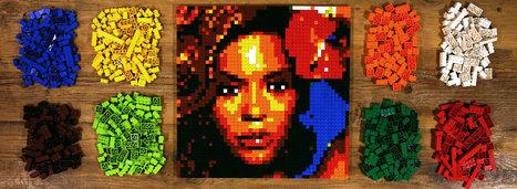 Photobrix - LEGO™ Wall Art Instruction Generator | Instruction & Technology | Scoop.it