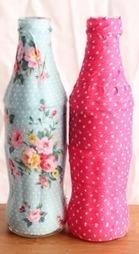 Cómo decorar botellas de vidrio | Erika Guerrero | Scoop.it
