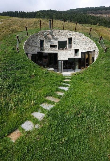 CMA & SeARCH – Villa Vals - Ça j'aime bien | architecture verte | Scoop.it