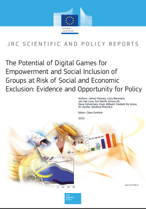 The Potential of Digital Games for Empowerment and Social Inclusion | Idees SparkLab | Scoop.it